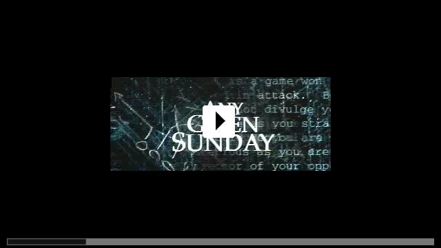 Zum Video: An jedem verdammten Sonntag