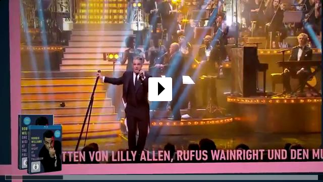 Zum Video: Robbie Williams - One Night at the Palladium