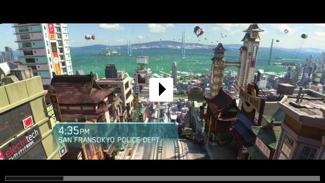 Zum Video: Baymax - Riesiges Robowabohu