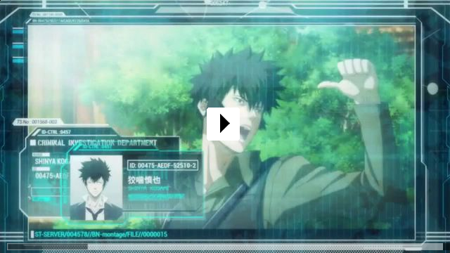 Zum Video: Psycho-Pass: The Movie