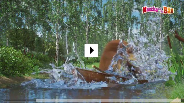 Zum Video: Mascha und der Bär - Die neuen Abenteuer
