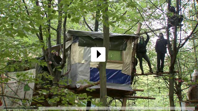 Zum Video: Die rote Linie - Widerstand im Hambacher Forst