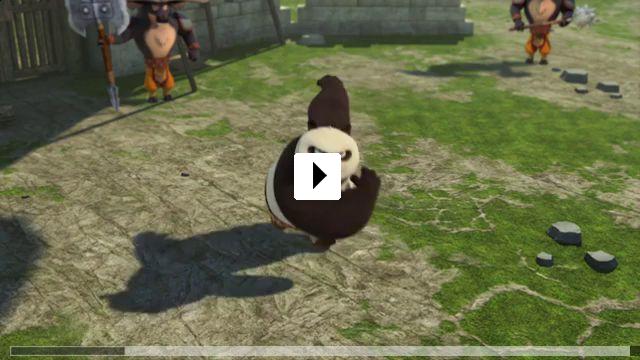 Zum Video: Kung Fu Panda - Legenden mit Fell und Fu