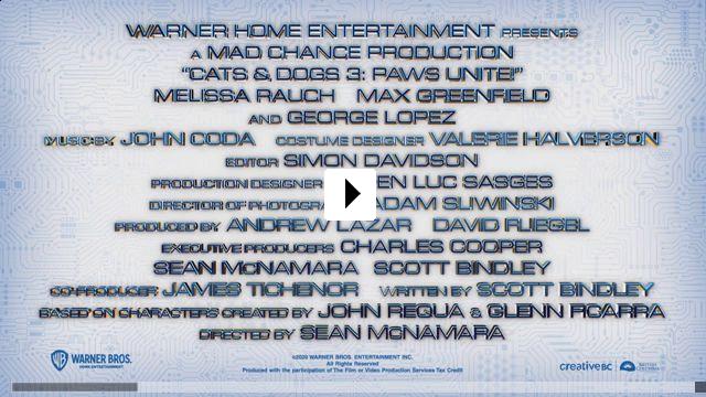 Zum Video: Cats & Dogs 3 - Pfoten vereint!