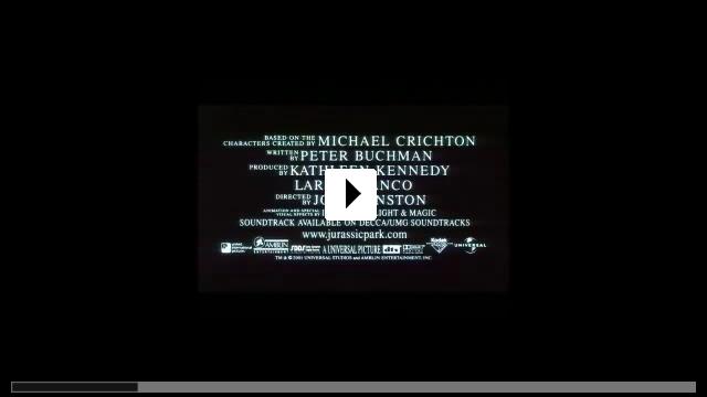 Zum Video: Jurassic Park 3