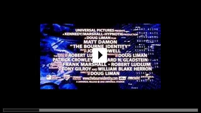 Zum Video: Die Bourne Identität