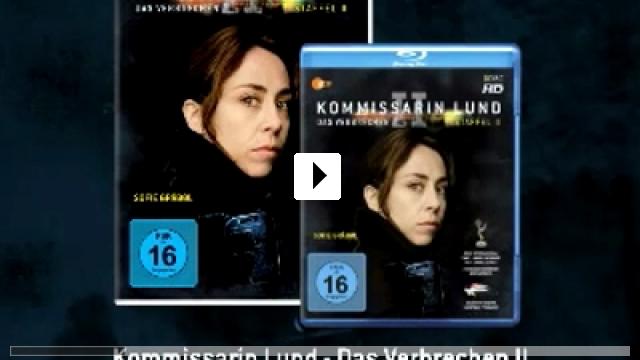 Zum Video: Kommissarin Lund - Das Verbrechen II