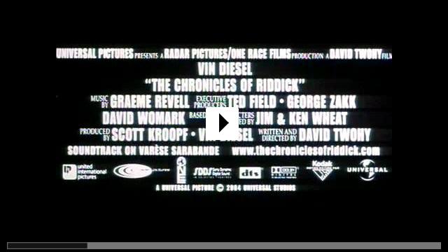 Zum Video: Riddick - Chroniken eines Kriegers / The Chronicles...iddick