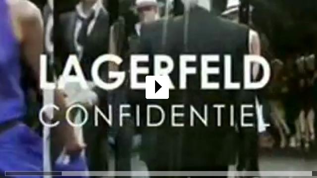 Zum Video: Lagerfeld Confidential
